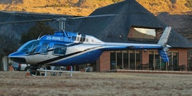 Helicopter Rides in the Drakensberg
