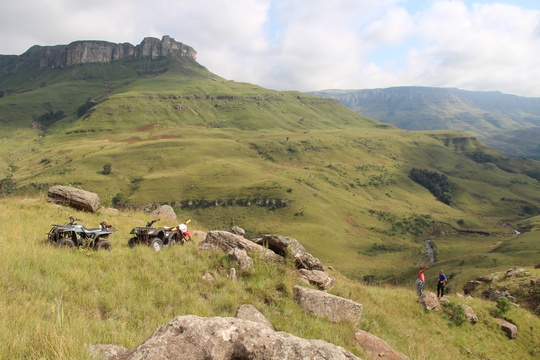 Guided Quad Biking Through the Drakensberg